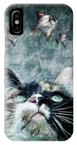 Abyss Cat Nr 2 IPhone Case