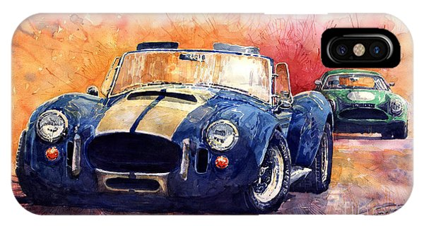 Car iPhone X Case - Ac Cobra Shelby 427 by Yuriy Shevchuk