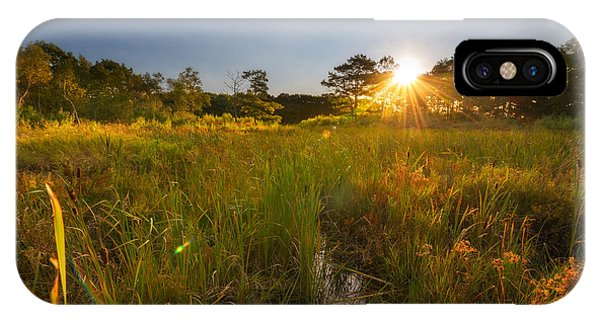 Michael iPhone Case - Acadia Marsh Sunrise  by Michael Ver Sprill
