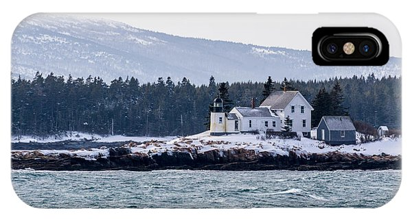 Acadia National Park Schoodic Lighthouse IPhone Case