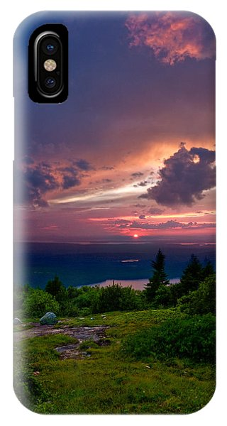 Acadia Sunset 47150 IPhone Case