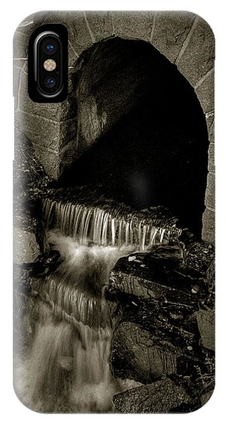IPhone Case featuring the photograph Acadia Waterfall by Michael Kirk
