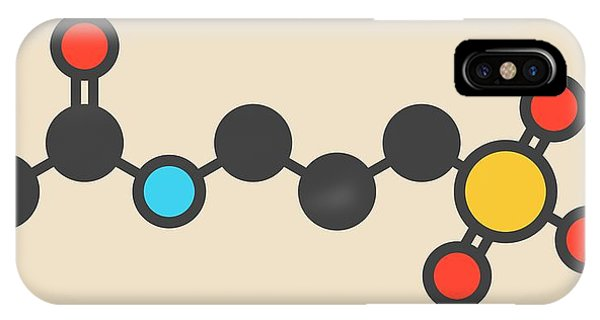 Acamprosate Alcoholism Drug Molecule Phone Case by Molekuul