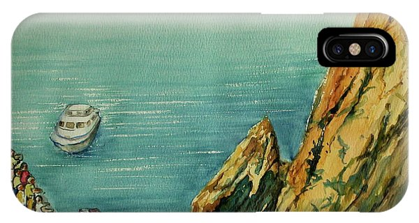 Acapulco Cliff Diver IPhone Case