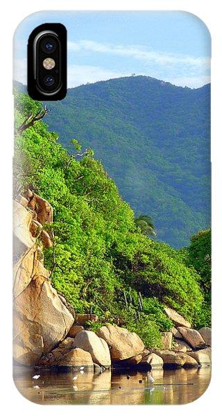 Acapulco Lagoon IPhone Case