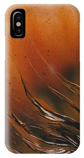 IPhone Case featuring the painting Accumulation Plant by Jason Girard