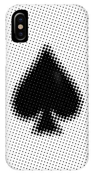 Witty iPhone Case - Ace Poster by Naxart Studio
