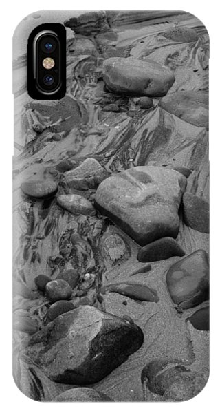 Achnahaird Beach Bw IPhone Case