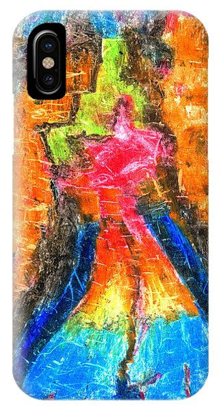 Achtung Phone Case by Yuri Lushnichenko