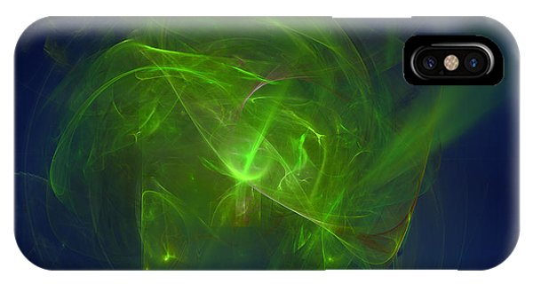 IPhone Case featuring the digital art Acidic Voulge by Jeff Iverson