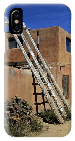 Adobe iPhone Case - Acoma Pueblo Adobe Homes 3 by Mike McGlothlen