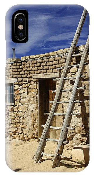 Adobe iPhone Case - Acoma Pueblo Adobe Homes 4 by Mike McGlothlen