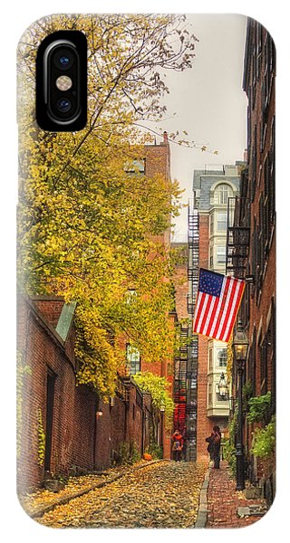 Acorn Street - Boston IPhone Case