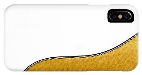 IPhone Case featuring the photograph Acoustic Curve by Bob Orsillo
