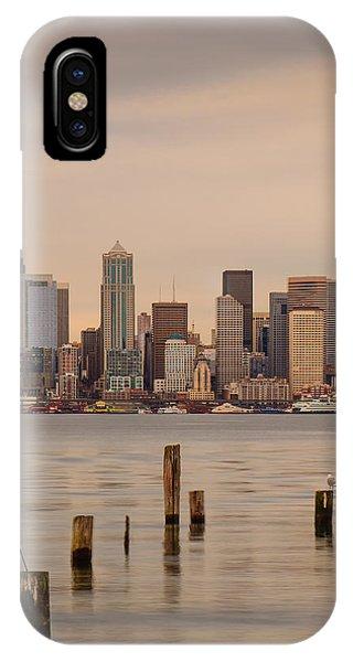 Across Elliott Bay IPhone Case
