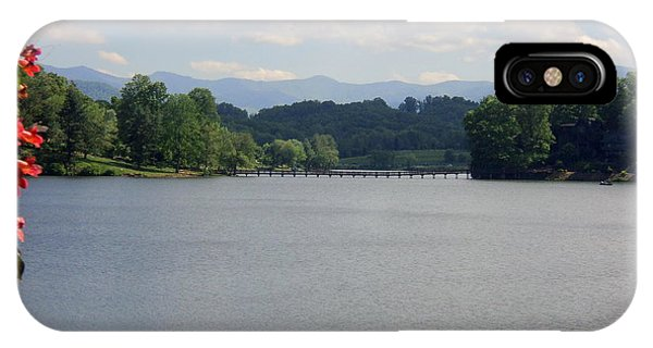 Across Lake Junaluska IPhone Case