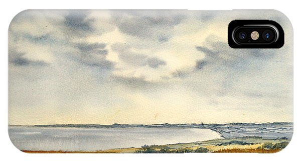 Across The Bay To Barmston IPhone Case