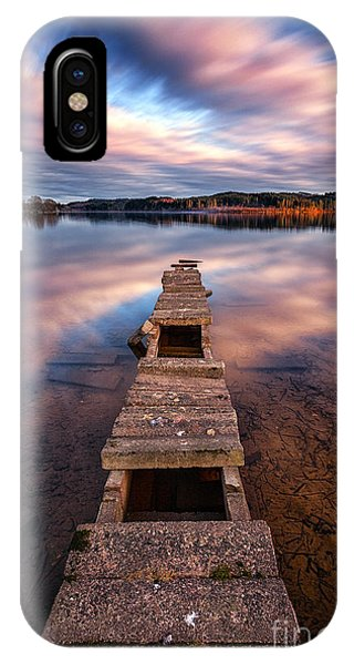 Loch Ard iPhone Case - Across The Water by John Farnan