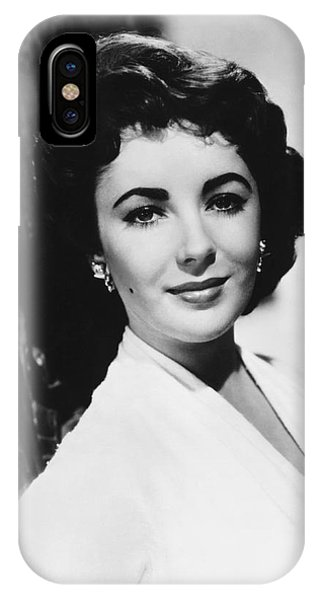 Actress Elizabeth Taylor IPhone Case