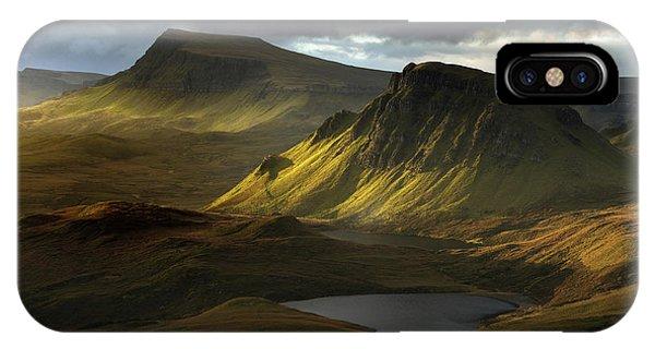 Scotland iPhone Case - Adagio by David Bouscarle