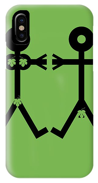 Equal iPhone Case - Adam And Eve Icon by Thisisnotme