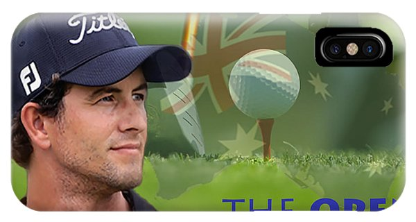 Adam Scott IPhone Case