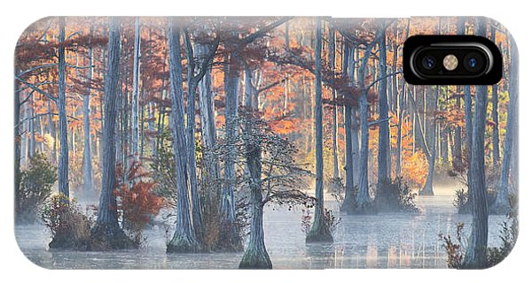 Adams Mill Pond Panorama 11 IPhone Case