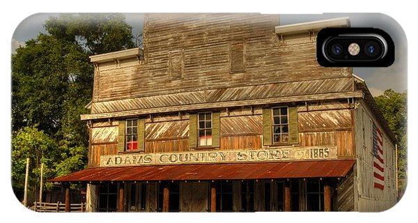 Adams Old Country Store IPhone Case