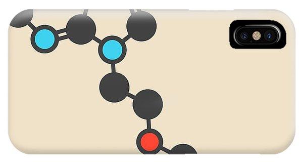 Adefovir Antiviral Drug Molecule Phone Case by Molekuul