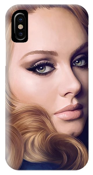 Adele iPhone Case - Adele Artwork  by Sheraz A