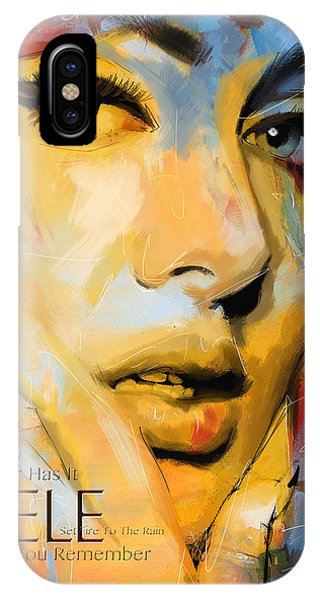 Adele iPhone Case - Adele by Corporate Art Task Force