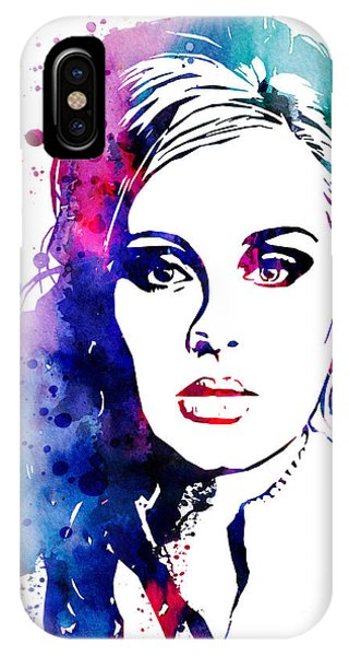 Adele iPhone Case - Adele by Watercolor Girl