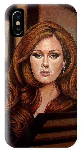 Adele iPhone Case - Adele by Paul Meijering