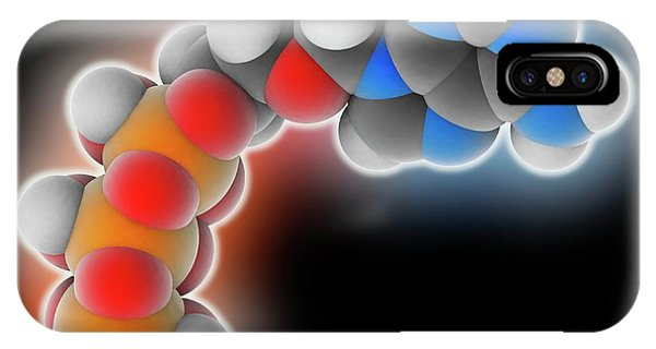 Adenosine Triphosphate Molecule IPhone Case
