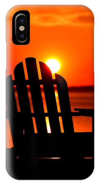 Adirondack Days End IPhone Case