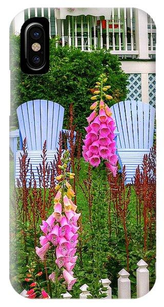 Adirondack Garden IPhone Case