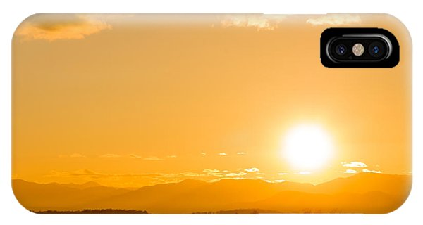 Adirondack Sunset Phone Case by Jeremy Farnsworth