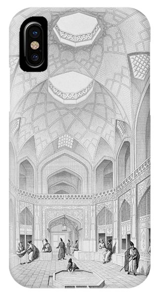 Adji Seid Hussein Bazaar IPhone Case