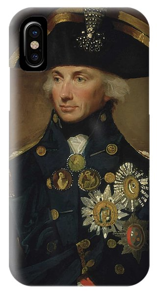 Maritime iPhone Case - Admiral Horatio Nelson by War Is Hell Store