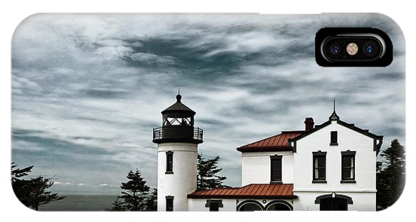 Whidbey iPhone Case - Admiralty Head Lighthouse by Joan Carroll