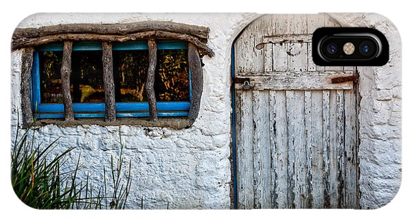 Adobe iPhone Case - Adobe Door And Window by Peter Tellone