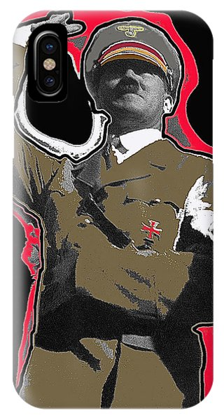 Adolf Hitler Saluting 2 Circa 1933-2009 IPhone Case