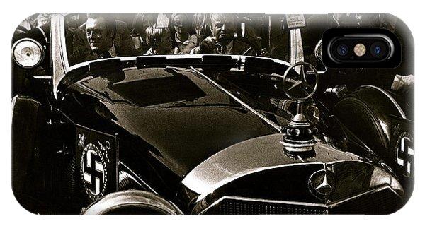 Adolf Hitler's 1941 Mercedes-benz 770-k Touring Car Sold At Auction Scottsdale Arizona 1973 IPhone Case