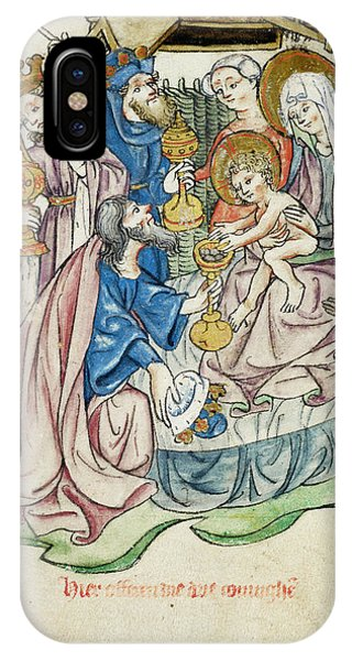Adoration Of The Magi IPhone Case