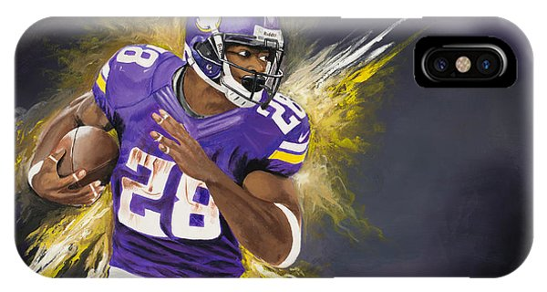 Adrian Peterson IPhone Case