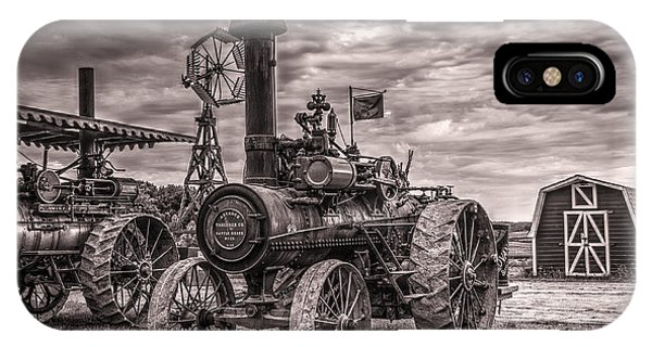 Advance Steam Traction Engine IPhone Case