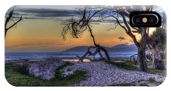 Adventures At Sunset Beach IPhone Case