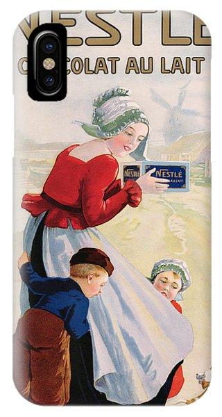 Advertisement For Chocolat Au Lait IPhone Case