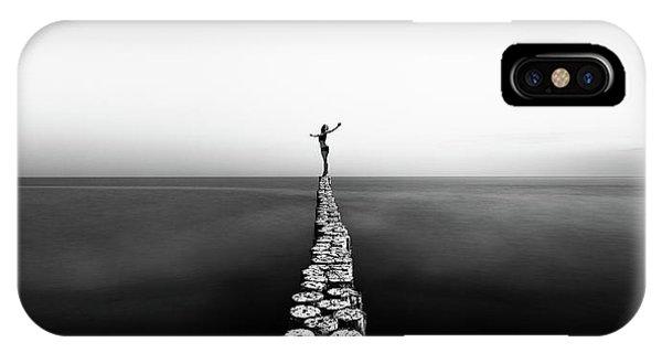 Pier iPhone Case - Aequilibrium by Patrick Odorizzi