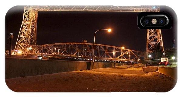 Aerial Lift Bridge Phone Case by Kevin Jack